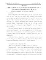 MỘT số GIẢI PHÁP HOÀN THIỆN HOẠT ĐỘNG NHẬP KHẨU vật tư THIẾT bị tại CÔNG TY XNK VINASHIN