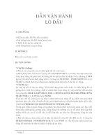 Tài liệu Hướng dẫn vận hành lò dầu pdf