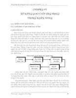 Tài liệu KỸ NĂNG GIAO TIẾP TRONG KINH DOANH CHƯƠNG 6 ppt