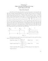 Lý thuyết mạch điện và đề bài quá trình quá độ