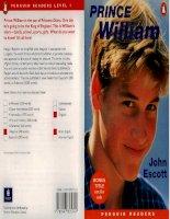 Tài liệu Prince William - John Escott docx