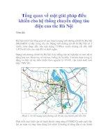 Tài liệu Tổng quan về một giải pháp điều khiển cho hệ thống chuyển động tàu điện doc