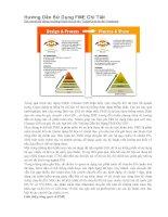 Hướng dẫn sử dụng FME chi tiết