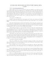 Tài liệu CẢNH GIÁC BỆNH HEN SUYỄN Ở TRẺ TRONG MÙA LẠNH pptx