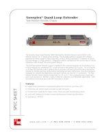 Tài liệu Soneplex® Quad Loop Extender Two-Position Remote Chassis pdf