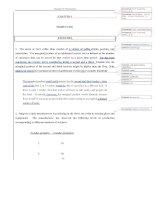 Tài liệu Bài tập về Kinh tế vĩ mô bằng tiếng Anh - Chương 6 doc