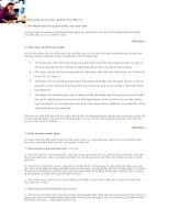 Tài liệu Những kiến thức cơ bản về Thanh Toán Điện Tử ppt