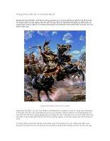 Tài liệu Những bài học lãnh đạo từ Alexander Đại đế pptx