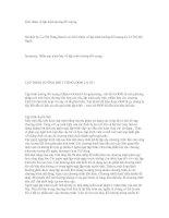 Tài liệu Giới thiệu về lập trình hướng đối tượng doc