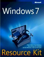 Tài liệu Windows 7 Resource Kit- P1 ppt