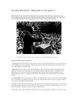 Tài liệu Kỹ năng diễn thuyết - những điều cơ bản pdf
