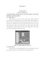 Tài liệu Thiết kế máy thu phát ký tự 8 bit, chương 2 doc