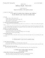 Tài liệu Bài tập lý thuyết và thực nghiệm hóa học pdf