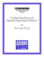 Tài liệu Guided Reading and Spanish-Speaking Children doc