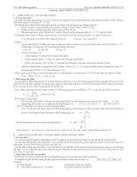 Tài liệu Lý Thuyết Hạt nhân nguyên tử - Cấu Tạo Nguyên Tử doc