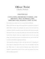 Tài liệu LUYỆN ĐỌC TIẾNG ANH QUA TÁC PHẨM VĂN HỌC-Oliver Twist -Charles Dickens -CHAPTER 41 doc