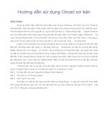 Tài liệu Hướng dẫn sử dụng Orcad cơ bản pdf