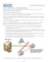 Tài liệu Part 27 - DHCP Server - DHCP Replay Agent doc