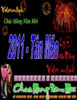 Bài giảng chúc mừng năm mới Tân Mão với Ly Rượu Mừng