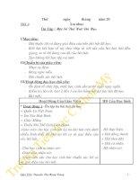 Bài soạn Giáo án âm nhạc lớp 5