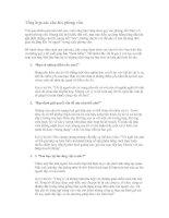 Tài liệu Tổng hợp các câu hỏi phỏng vấn Trải qua nhiều gian nan khổ cực, cuối cùng docx