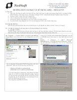 Tài liệu HƯỚNG DẪN CÀI ĐẶT VÀ SỬ DỤNG ADSL - MEGAVNN doc
