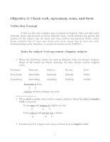 Tài liệu Grammar for TOEFL test ppt