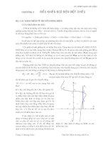 Tài liệu Chương 3: Điều khiển động cơ điện một chiều docx
