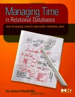 Tài liệu Managing time in relational databases- P1 ppt