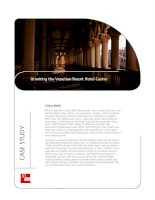 Tài liệu Unwiring the Venetian Resort Hotel Casino docx