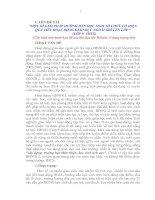 MỘT số GIẢI PHÁP HƯỚNG dẫn học SINH tổ CHỨC có HIỆU QUẢ TIẾT HOẠT ĐỘNG GIÁO dục NGOÀI GIỜ lên lớp
