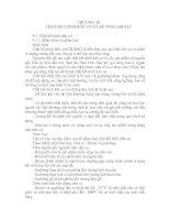 Tài liệu CHƯƠNG IX: CHẤT KẾT DÍNH HỮU CƠ VÀ BÊ TÔNG ASFALT pdf
