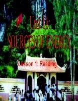 Gián án unit 11 lesson 1 reading (CB)