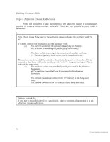Tài liệu Building grammar skills for TOEFL IBT part 6 ppt