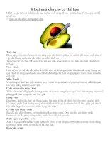 8 loại quả cần cho cơ thể bạn