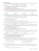 Tài liệu Luyện thi đại học tổng hợp môn Vật lý (có đáp án) docx