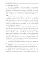 Tài liệu Thiết bi lạnh ô tô P1 pdf