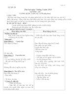 Tài liệu Giáo án lớp 4 - Tuần 33 docx