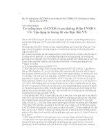 Tài liệu Tư tưởng hcm về CNXH và con đường đi lên CNXH ở VN. Vận dụng tư tưởng đó vào thực tiễn VN. doc