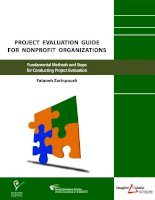 Project evaluation guide for nonprofit organizations