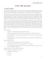 Tài liệu Ung thư dạ dày pdf
