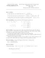 Bài giảng Đề ôn HSG 1