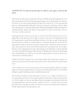 Tài liệu IDIOMS LESSON 052 docx