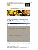 Tài liệu Giáo trình Thiết lập và quản trị Lotus Domino( tiếp theo) docx