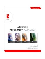 Tài liệu Presentation - ADC KRONE - Corporate Overview - SE Asia 2006 ppt