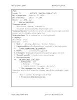 Bài soạn Grammar practice 1 HKII
