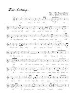Tài liệu Bài hát quê hương - Giáp Văn Thạch (lời bài hát có nốt) pdf