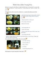 Tài liệu Bánh tôm chiên Trung Hoa ppt