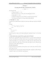 Tài liệu Hướng dẫn lập trình VB.NET Chương 7: Sử dụng phát biếu lặp và bộ định thời pptx