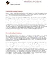 Tài liệu Lightning Protection pdf